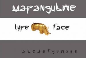 Mapangubwe Typeface Specimen