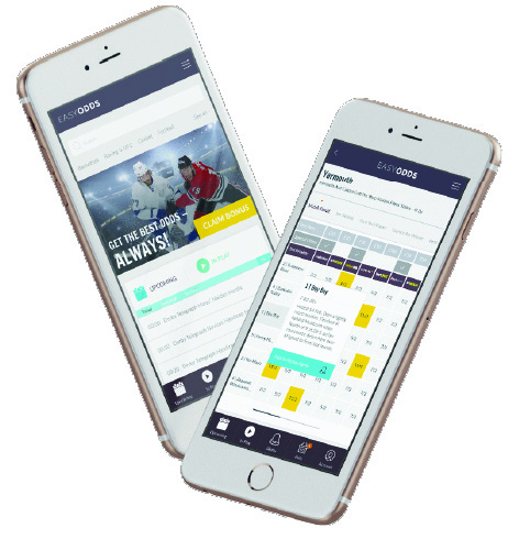 Easy Odds Mobile First redesign